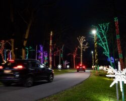 Festive Fun at the Free Herr's Christmas Lights in Chester County