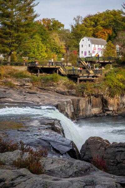 Ohiopyle Falls in southwestern Pennsylvania