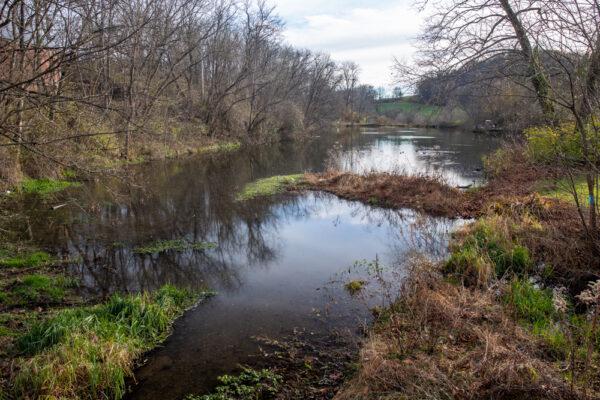 Pond in SIlver Mine Park in Lancaster County Pennsylvania