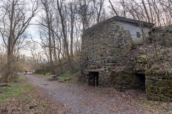 Kilns at Silver Mine Park in Pequea Township Pennsylvania