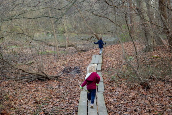 Hiking at Silver Mine Park in Lancaster County Pennsylvania