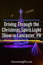Christmas Spirit Light Show in Lancaster Pennsylvania