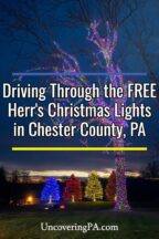 Herr's Christmas Lights in Chester County Pennsylvania