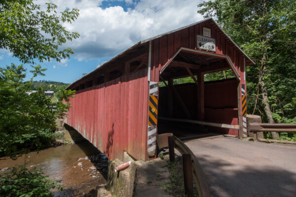 Davis Covered Bridge near Queen City PA