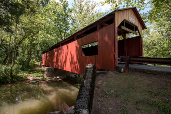 Esther Furnace Covered Bridge in Columbia County, PA