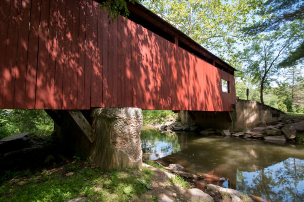 Another look at Esther Furnace Covered Bridge.