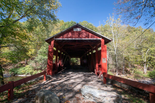 Josiah Hess Covered Bridge in Pennsylvania
