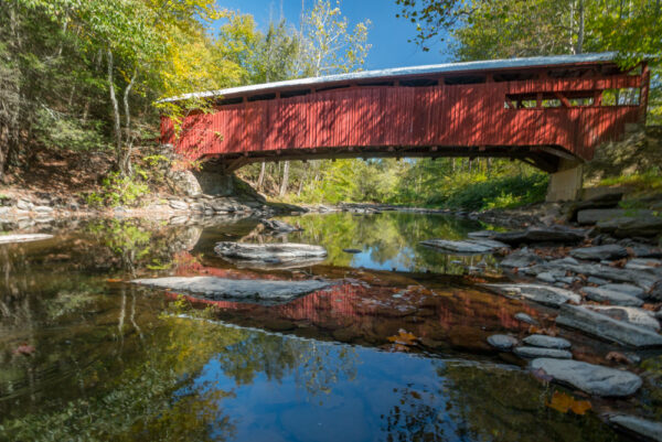 Josiah Hess Covered Bridge in Columbia County PA
