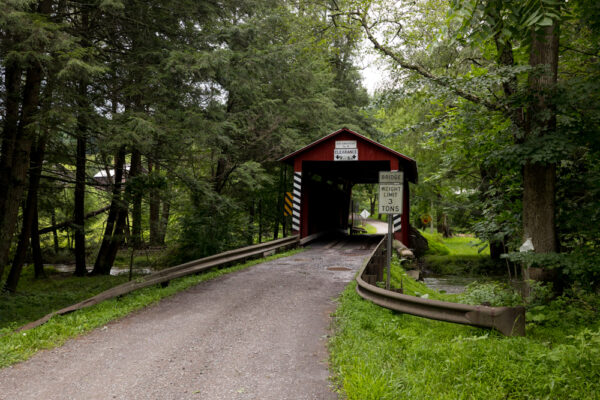 Jud Christian Covered Bridge in Columbia County PA