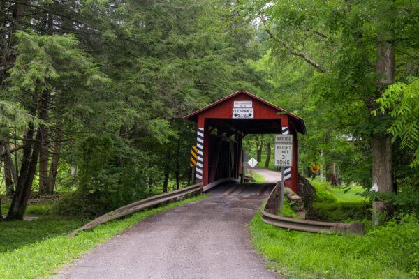 Jud Christian Covered Bridge in Columbia County Pennsylvania