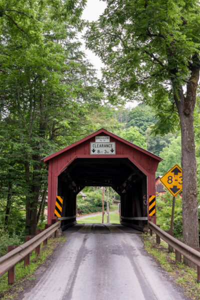 Krickbaum Covered Bridge in Columbia County Pennsylvania
