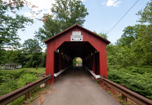 Parr's Mill Covered Bridge in Columbia County PA