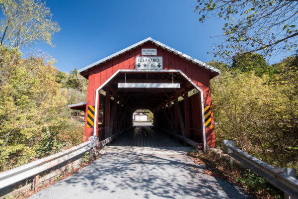 Patterson Covered Bridge near Rohrsburg PA