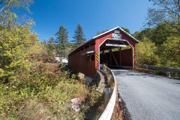 Patterson Covered Bridge in Columbia County Pennsylvania