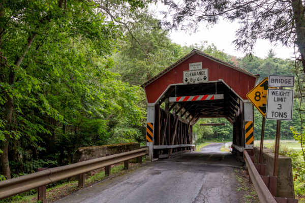 Richards Covered Bridge in Columbia County PA