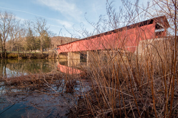 Rupert Covered Bridge near Bloomsburg PA