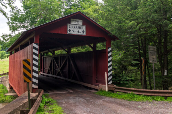 Sam Eckman Covered Bridge in Columbia County PA