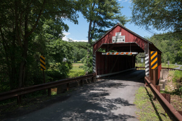 Snyder Covered Bridge near Slabtown, PA