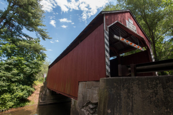 Snyder Covered Bridge near Numidia, PA