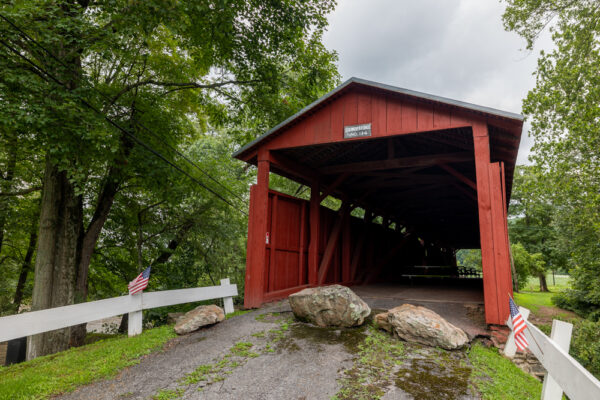 Stillwater Covered Bridge in Columbia County PA