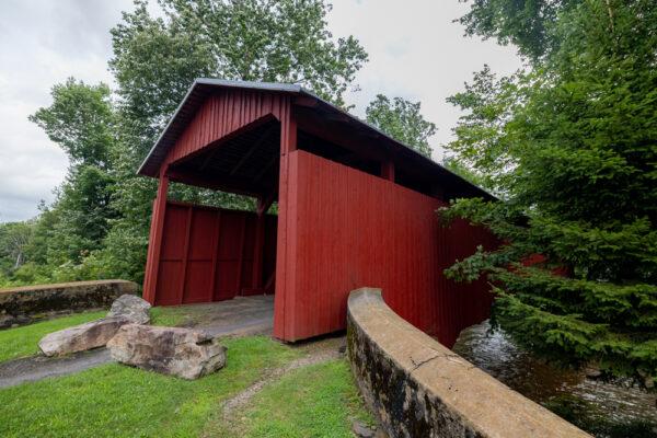 Stillwater Covered Bridge in Stillwater PA