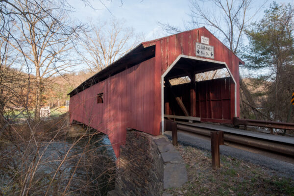 Wanich Covered Bridge in Bloomsburg PA