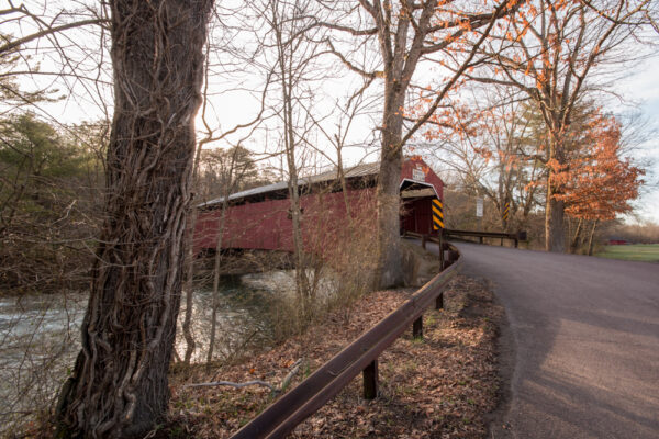 Wanich Covered Bridge in Columbia County Pennsylvania