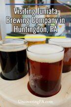 Juniata Brewing Company in Huntingdon, Pennsylvania