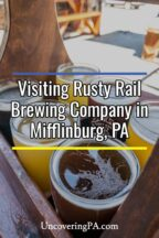 Rusty Rail Brewing Company in Mifflinburg, Pennsylvania