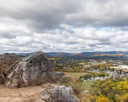 Enjoying the Amazing Views from Chimney Rocks in Hollidaysburg, PA