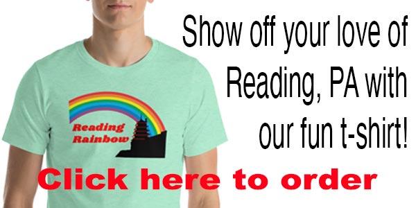 Reading PA T Shirt