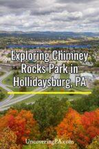 Visiting Chimney Rocks Park in Hollidaysburg, Pennsylvania