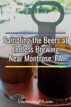 Endless Brewing in Montrose, Pennsylvania