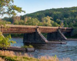 Roebling's Delaware Aqueduct: The Oldest Suspension Bridge in the US