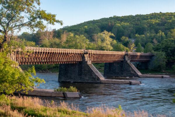 Roebling's Delaware Aqueduct in Lackawaxen PA