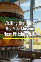 The Big Mac Museum near Pittsburgh Pennsylvania