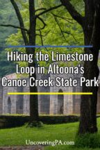 Limestone Loop in Canoe Creek State Park in Pennsylvania
