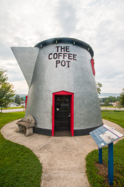 Photo of restored Bedford Coffee Pot near Bedford PA