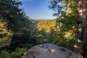 Visiting Cleland Rock: McConnells Mill State Park's Only Vista