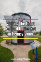 Bedford Coffee Pot in Bedford Pennsylvania