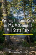 Cleland Rock in McConnells Mill State Park