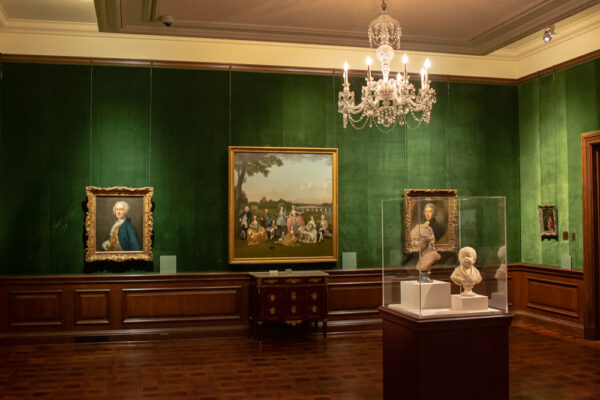 Inside the Frick Art Museum in Pittsburgh PA