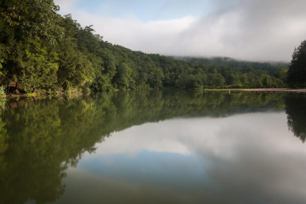 Overlooking Greenwood Lake in Huntingdon County PA