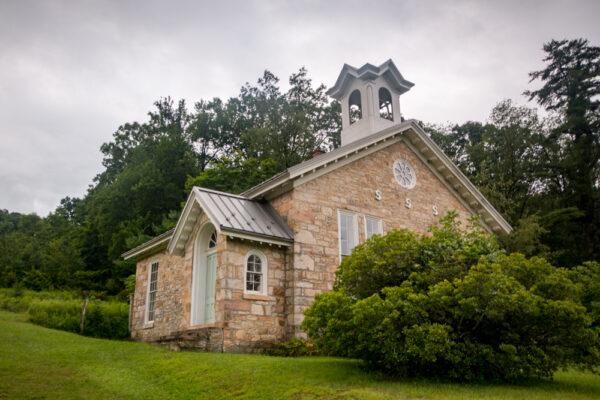 Church in Greenwood Furnace State Park in Pennsylvania