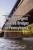 Longest Covered Bridges in Pennsylvania
