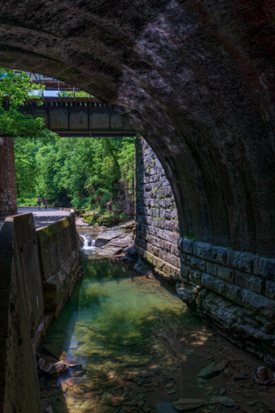 Sawmill Run at the Seldom Seen Greenway in Pittsburgh Pennsylvania