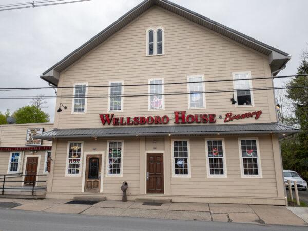 Exterior of Wellsboro House Brewery in Tioga County Pennsylvania