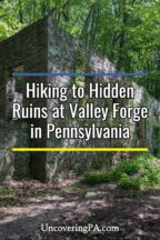 Ruins at Valley Forge in Pennsylvania