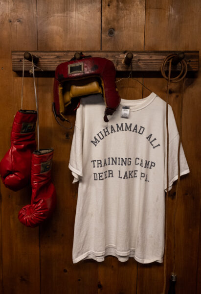 Muhammad Ali shirt at Fighter's Heave in Schuylkill County PA