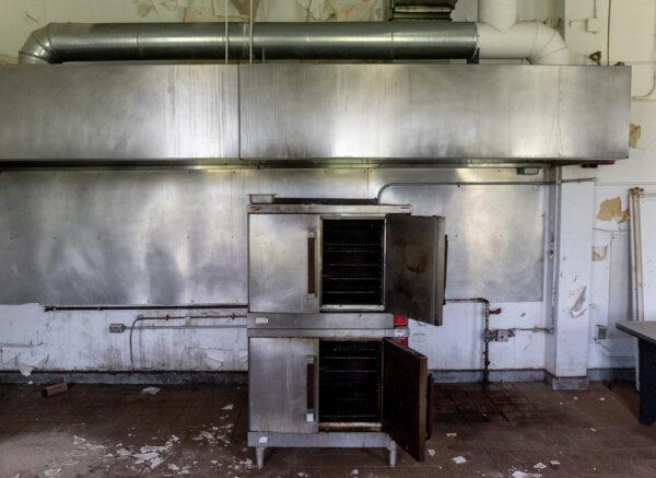 Stove in the kitchen of SCI Cresson near Altoona PA